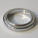 Chrome Metal Large Tap Base Ring Plinth 54mm - 62003159